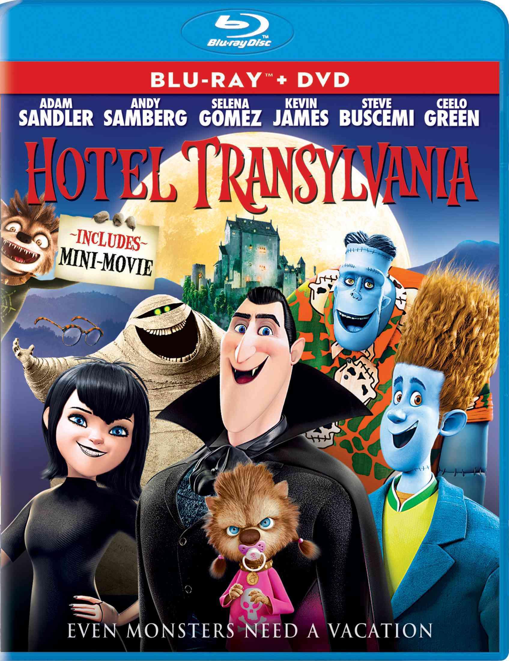 HOTEL TRANSYLVANIA BY SANDLER,ADAM (Blu-Ray)